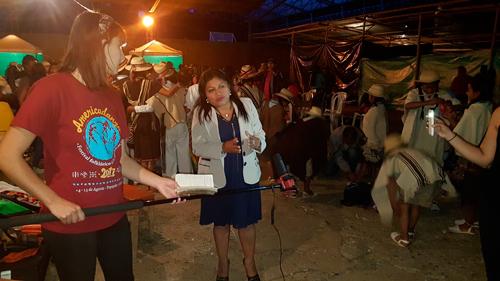 Flor Ilva Tróchez Ramos, alcaldesa municipal de Jambaló