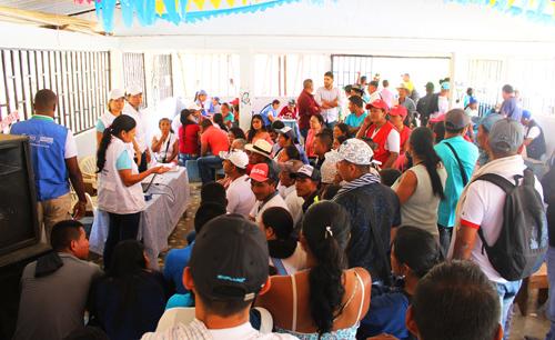 Jornada Móvil de Justicia y Paz en Los Robles, Suárez