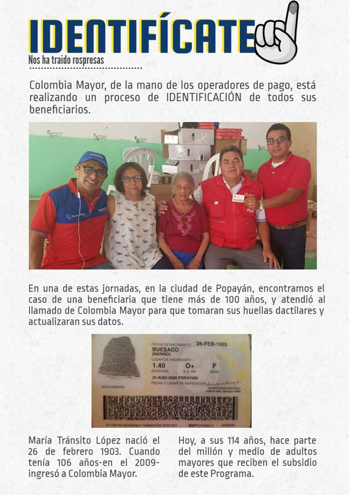 Mujer de 114 años es la mayor de Colombia Mayor