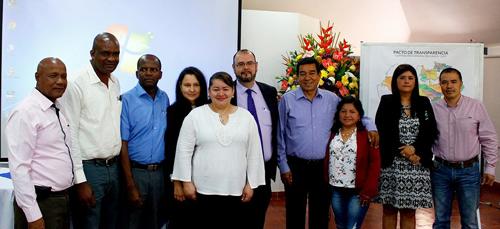 Pacto por la Transparencia - Alcaldes del Cauca