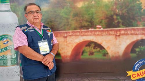 Rubio Huberto Pérez, jefe de la oficina de Rentas del Cauca