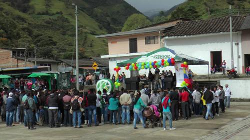 Encuentro Cultural de la Caucanidad en el municipio de La Vega