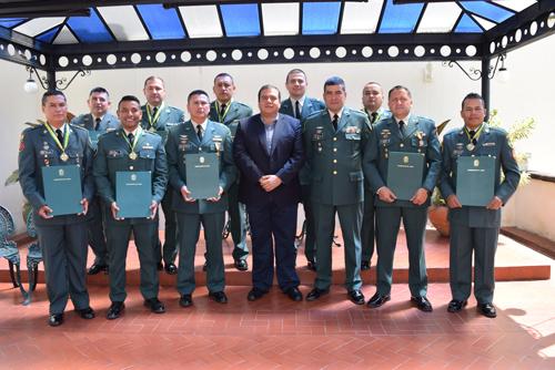 Distinciones al Ejército por su labor en el Cauca