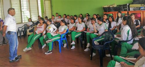 Estudiantes previenen enfermedades transmitidas por vectores en el Cauca