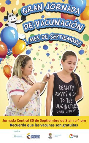 Jornada de Vacunación en el Cauca