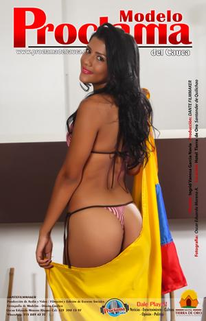 Modelo Proclama del Cauca Ingrid Vanesa García