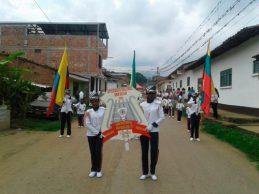 Bandas músico marciales de Villa Rica continúan cosechando triunfos