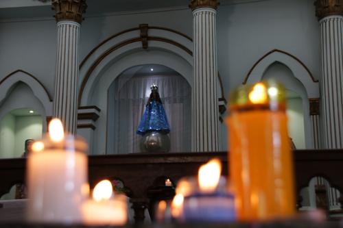 La peregrinación en honor a la Niña María se celebra cada año, el 8 de septiembre