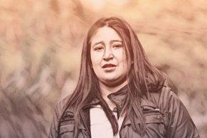 Efigenia Vásquez, comunicadora y periodista indígena