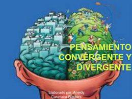 Entre pensamientos divergentes y convergentes