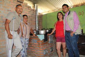 Estufas Ecoeficientes de la mano con el medio ambiente en Morales, Cauca