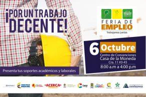 Participa en la Feria Laboral de Empleo en el Cauca