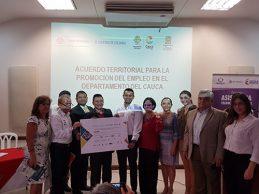 Firma del Acuerdo por el Empleo Cauca