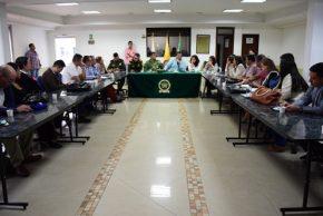 Gobernador del Cauca se reúne con gremio Empresarial del departamento