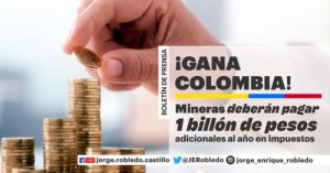 Mineras ganan $1.2 billones on violación de la ley
