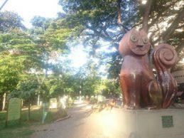 Monumento al Gato, de Hernando Tejada, en Cali