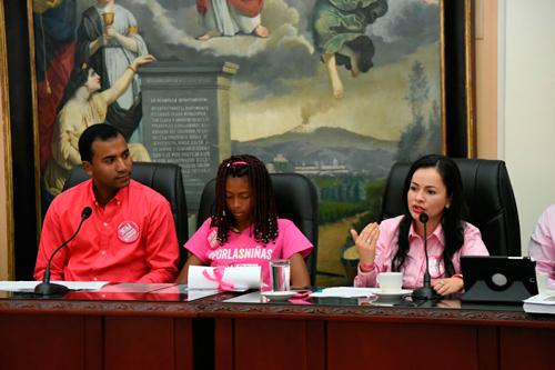 Niña de Buenos Aires, nueva presidenta de la Asamblea del Cauca