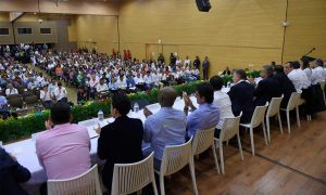 El Presidente Juan Manuel Santos presentó la prórroga del Contrato Paz para el Cauca, que contempla importantes inversiones para beneficio de los 42 municipios del departamento.