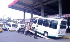 Operativos de control a vehículos de transporte público y colectivo en Popayán