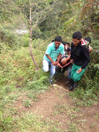 Se cayó otro puente en Inzá. Dos muertos y cuatro heridos. No. 5
