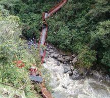 Se cayó otro puente en Inzá. Dos muertos y cuatro heridos. No.6