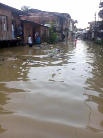 Alerta roja en Timbiquí por inundaciones 4