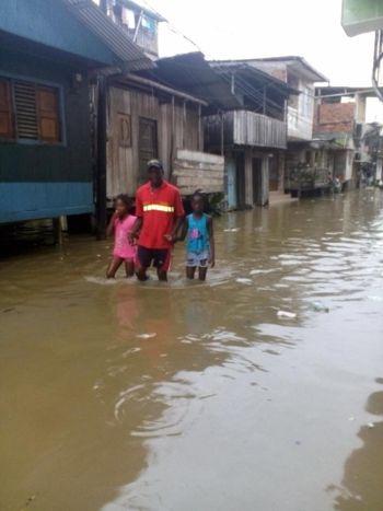 Alerta roja en Timbiquí por inundaciones 3