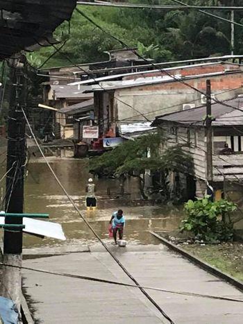Alerta roja en Timbiquí por inundaciones 12