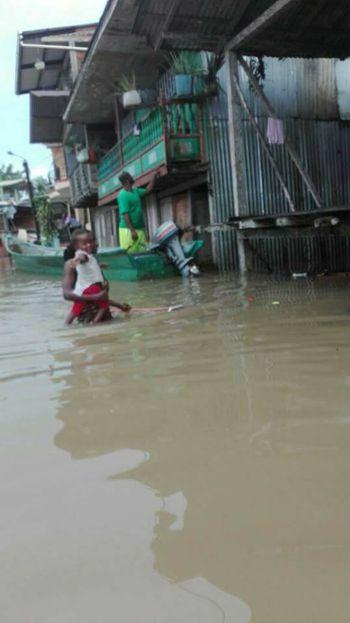 Alerta roja en Timbiquí por inundaciones 8