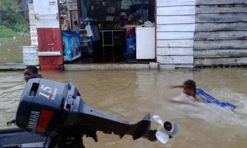 Alerta roja en Timbiquí por inundaciones 6