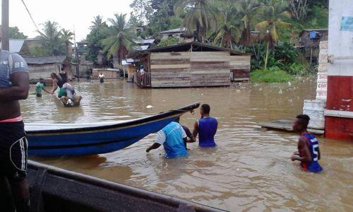 Alerta roja en Timbiquí por inundaciones 5