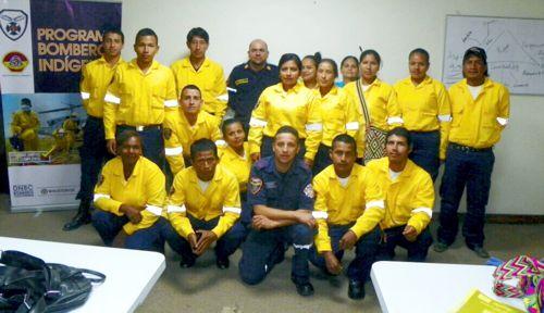 Quilichao ya cuenta con bomberos especializados en incendios forestales