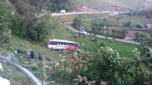 Accidente en Puracé: 4 muertos, 23 heridos