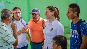 Se socializólapavimentación San Pedro-La Palomera