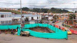 Inician obras de recuperación del retorno ubicado frente a la Secretaría de Tránsito y Transporte de Popayán