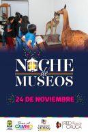 Llega la Noche de Museos a Popayán