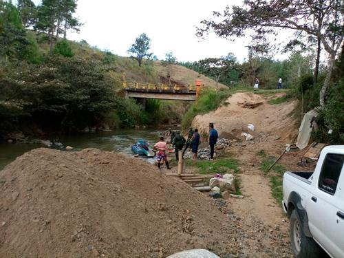 Operativo contra minería ilegal en río Sucio, ElTambo