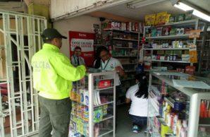 Alerta por administración de medicamentos en farmacias y droguerías