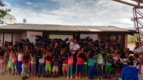 Los niños de Almaguer aprenden con energía