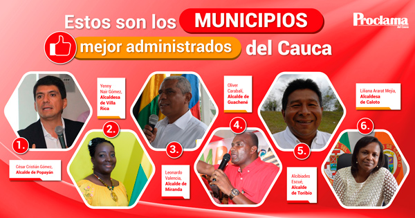 Sólo 8 municipios del Cauca son sostenibles