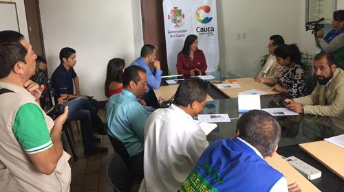 """""""Cauca Incluyente"""", estrategia educativa bandera en la gestión de la actual secretaria de educación"""