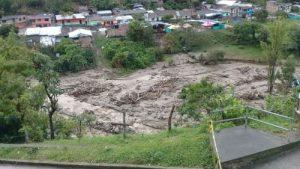 En alerta comunidades de Páez por desbordamientos de ríos