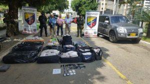 Escoltas de la UNP detenidos con 374 kilos de marihuana