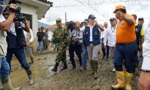 Presidente lidera acción de emergencia por avalancha