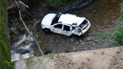 Tres heridos en accidente de tránsito en Jambaló