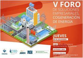 V foro de soluciones empresariales – cogeneración de energía