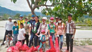 Recolección de Caracol Africano en Piamonte, Cauca