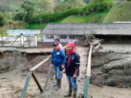 EMCASERVICIOS atiende emergencia presentada en el municipio de Páez