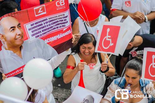 Bonilla Soto inscribió candidatura a la Cámara por el Cauca