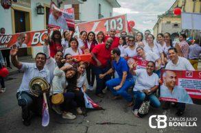 Bonilla, consolidando su trabajo político en Cauca